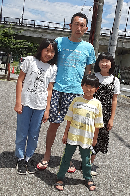 田口周さんとご家族様
